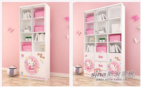 Hello Kitty KT系列二门书柜-0