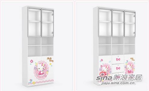 Hello Kitty KT系列二门书柜-1