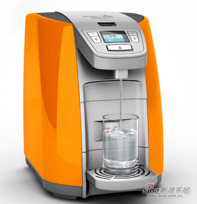 海尔施特劳斯智饮机 HSW-V5HR(橙)温热型-1