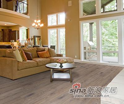 德合家ROOMS 强化地板R1213拉丝深橡木