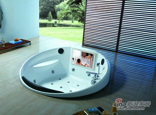 豪华圆形浴缸-0