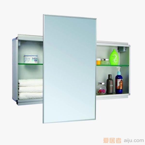派尔沃浴室柜(镜柜)-M1505(800*700*140MM)1