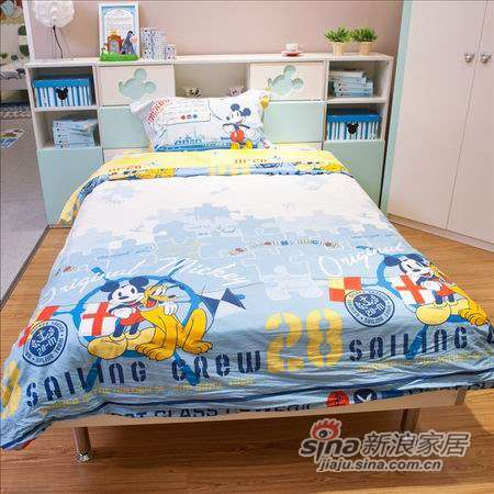 迪士尼儿童彩色家具-冰雪米奇床-0