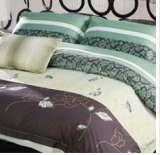 紫罗兰家纺床上用品全棉活性印花四件套宁静致远PCKA015-4
