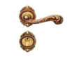 雅洁AS2011-C1915-92英文45抛铜锁体+英文70铜锁胆
