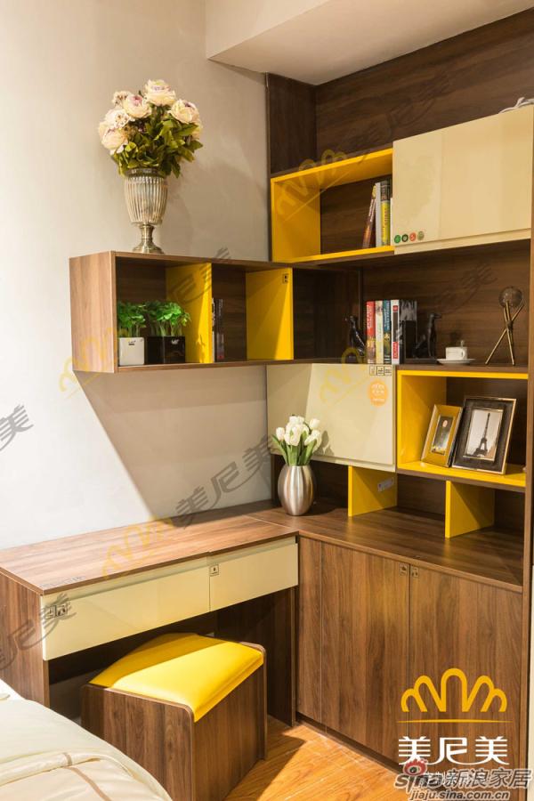 经典美式咖啡-床边展示柜