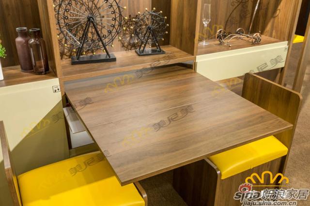 经典美式咖啡-隔断柜-隐形桌椅