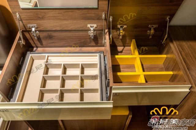 经典美式咖啡-梳妆台收纳区