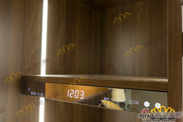 经典美式咖啡-床边柜-智能展示区细节