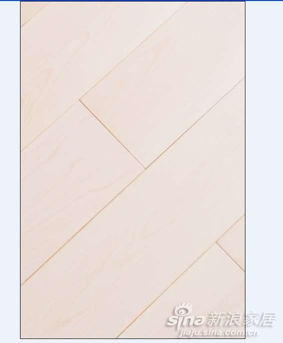 上臣桦木F3-G-1枫丹白露实木复合地板  -0