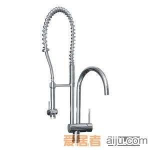 GORLDE单把单孔厨房水槽/洗菜池龙头XDD/805YZ1