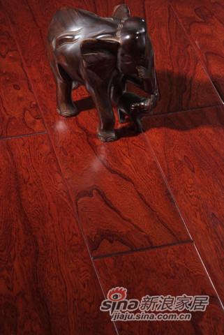 【永吉地板】实木复合仿古塞尚系列——榆木古堡圣地