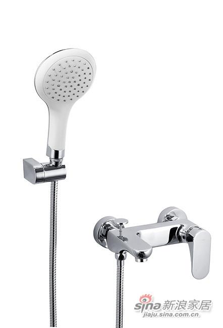 和成卫浴挂墙式浴缸沐浴龙头BF6512