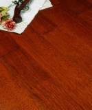宏鹏地板金铂面防潮实木系列―印茄木WFT-02-01A