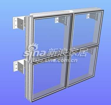 和平铝业玻璃单元式幕墙