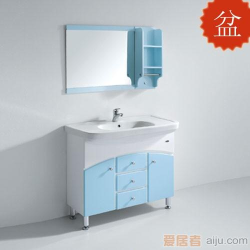 法恩莎PVC浴室柜FP3663B盆(1000*520*240mm)1