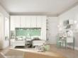 哥伦比尼儿童家具阿尔卡迪亚系列双床房