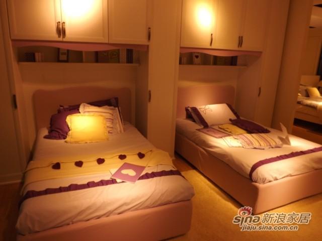 哥伦比尼儿童家具阿尔卡迪亚系列双床房-2