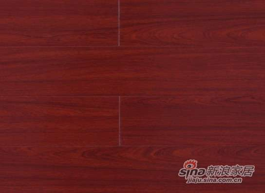 大卫地板中国红-华章红系列强化地板DWSL01红檀-0
