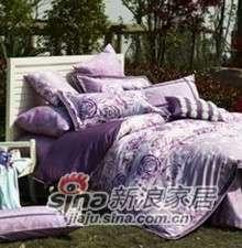 紫罗兰家纺床上用品全棉活性印花四件套灵韵PCKA338-4-0