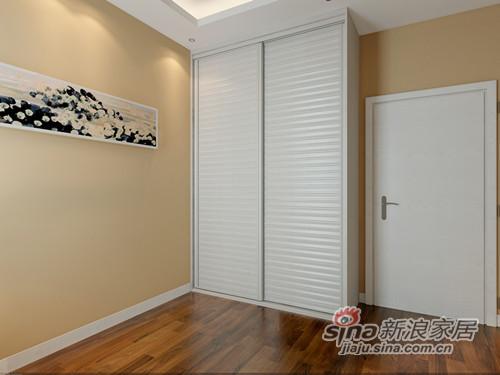 这款柜门是前面百叶造型,后面贴合整板,柜门可以高度密封,不用担心容易进灰尘这类的问题,平常保养就是用鸡毛掸扫一下就可以,如果用抹布擦,缝隙处的确比较难清洁。