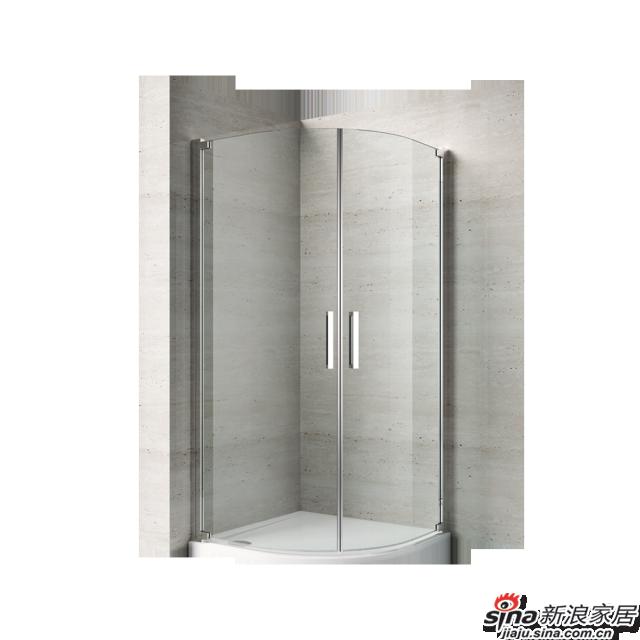 恒洁卫浴淋浴房HLG07S22