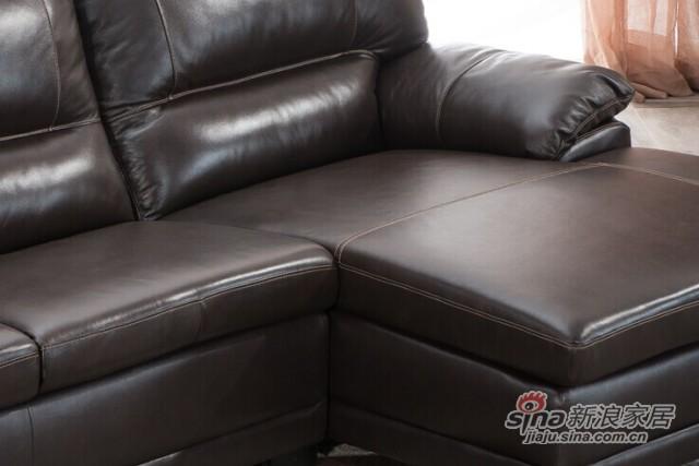 芝华仕实木沙发9838-2