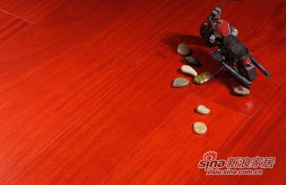 圣达地板本真实木系列―香脂木豆-0