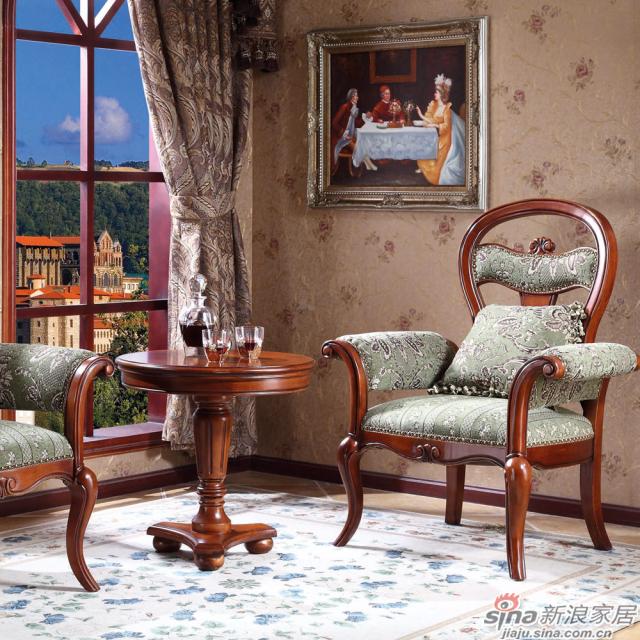 Z6046休闲椅+Z6047咖啡桌场景