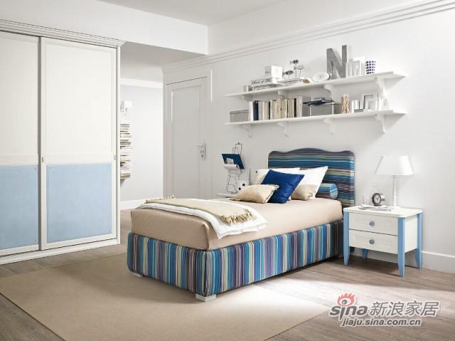哥伦比尼儿童家具阿尔卡迪亚系列单床房-3