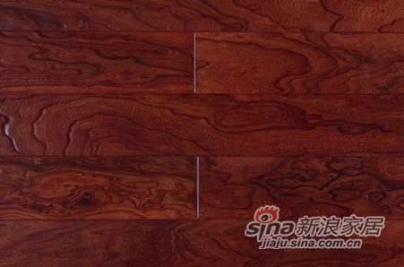 圣达实木多层复合地板浮雕仿古系列―王者之风-0