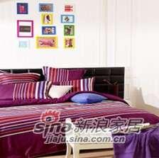 紫罗兰家纺床上用品全棉活性印花四件套阳光生活PCKA003-4-0