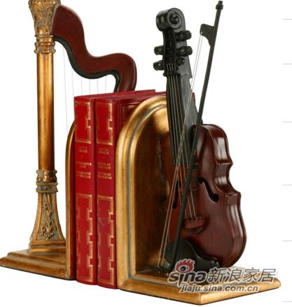 超舒适75-74182竖琴&小提琴压书具