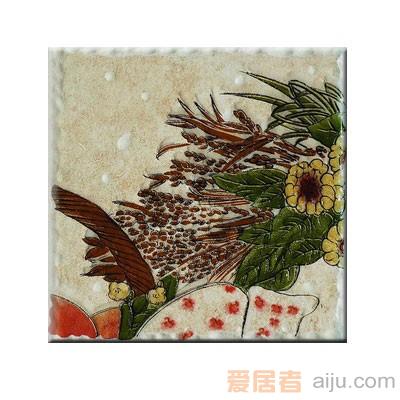 嘉俊-艺术质感瓷片[城市古堡系列]DD1502A2W-2(150*150MM)1