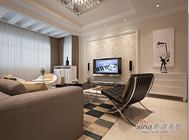 望京新城109现代风格-2