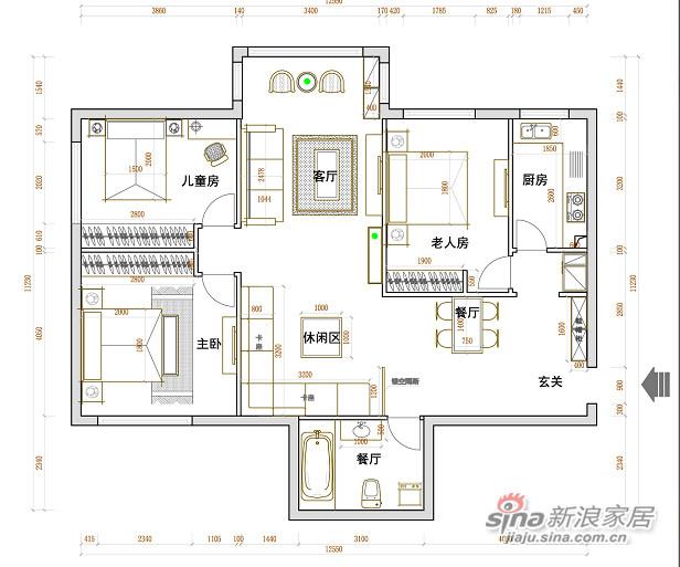 望京新城109现代风格-4