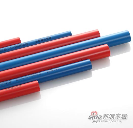 """优点1――易识别,更安全 采用""""强电用红管,弱电用蓝管""""设计概念,方便强弱电识别、布管、检修及后期家庭布线升级。 优点2――分强弱,免干扰 有效隔离强电对弱电的电磁干扰,使家居生活品质全线升级。 优点3――可冷弯,好穿线 常温下,使用弯管弹簧即可人工将线管"""