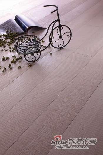 富得利三层实木复合地板栎木(欧洲橡木)天堂小镇FC-0111-40-N-0