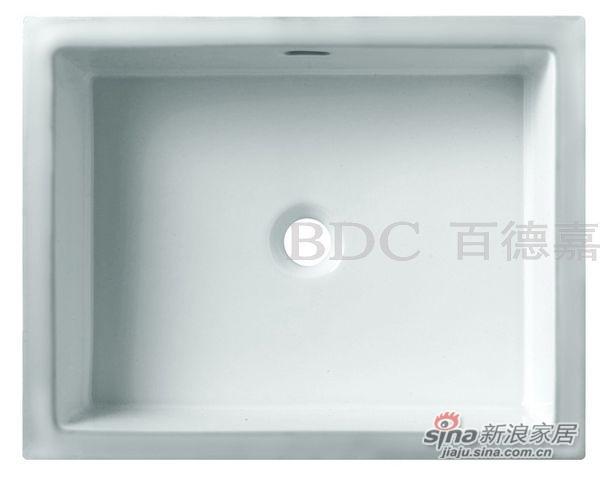 百德嘉陶瓷件台下盆-H312008欧彼帝系列-0