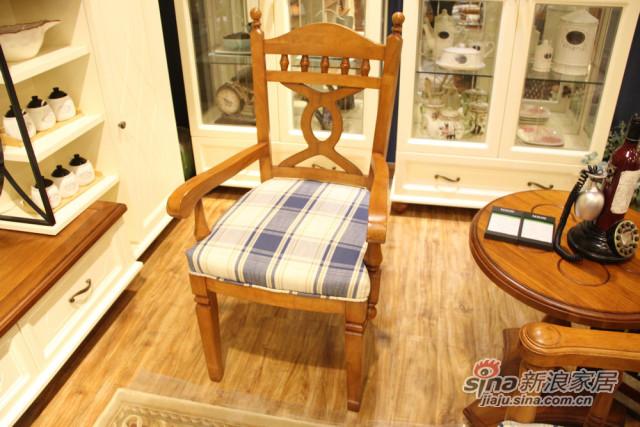 简欧名仕欧品餐椅-0
