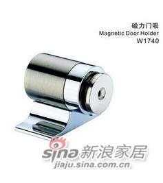 雅洁AW1740-78门磁吸+尼龙镍/铬-0