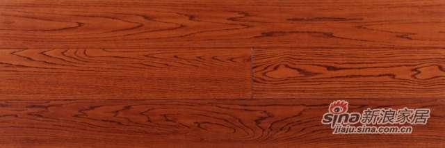 大卫地板经典实木-皇冠明珠系列S39G01-F5北美红橡(黄金麦田色)-0