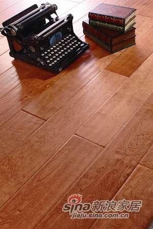 富得利/2MM多层实木复合地板欧洲枫桦木FB-2801-20仿古A-0