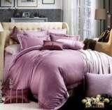 紫罗兰家纺全棉绣花六件套菲拉格慕(紫)VPEA702-6