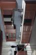 新中式古典实木橱柜 一字型整体橱柜效果图