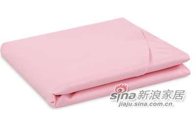 MLILY床上用品特价套件全棉斜纹 活性印染炫彩(粉红)床单-0