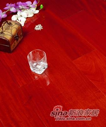 宏鹏地板钻晶面实木系列―香脂木豆WFT-05-01A-0