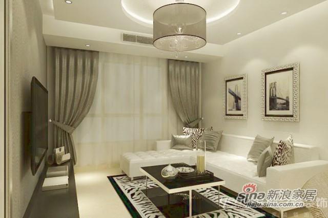 华贸城-88㎡-现代风格