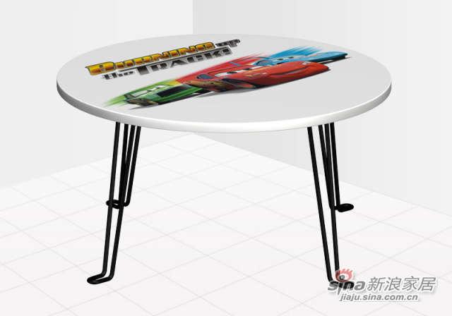 迪士尼汽车总动员小圆桌-0