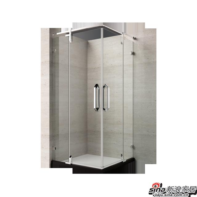 恒洁卫浴淋浴房HLG04F42